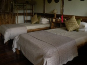 Buhoma Lodge luxury bed
