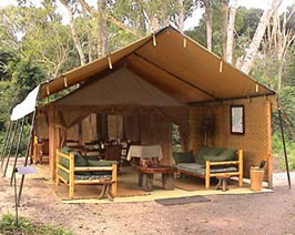 Ishasha Wilderness Camp, Queen Elizabeth National Park