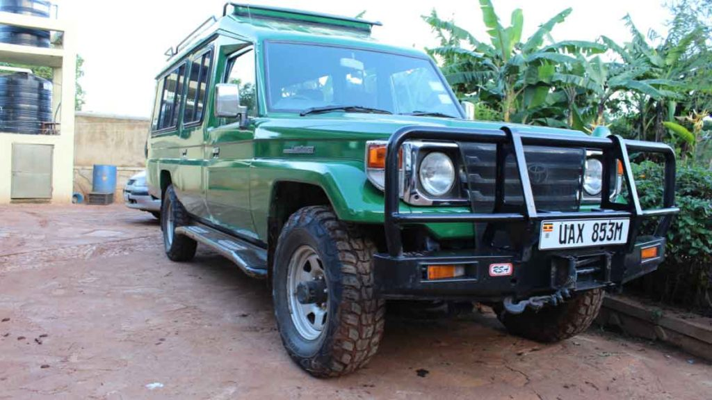 Gorillas and Wildlife Safaris Vehicles