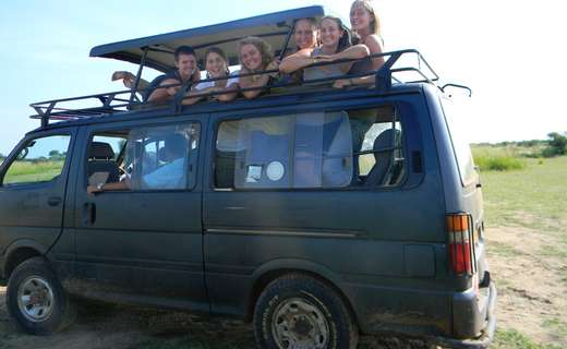 uganda Safari van