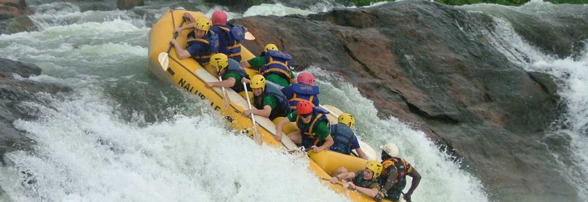 Gorillas and Wildlife Safaris - Whitewater rafting adventure safaris