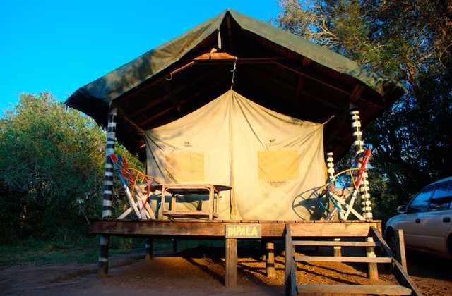 Lake Mburo Tented Camp tent