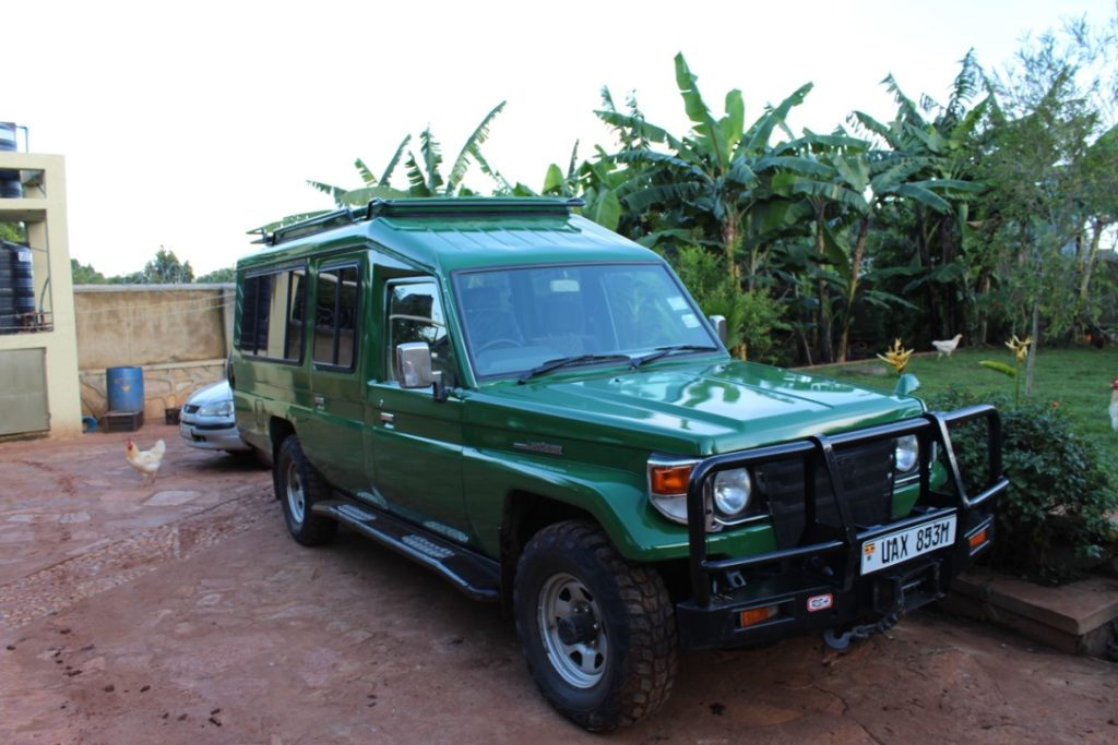 Safari Uganda car hire rental safari land cruiser hire tour cars